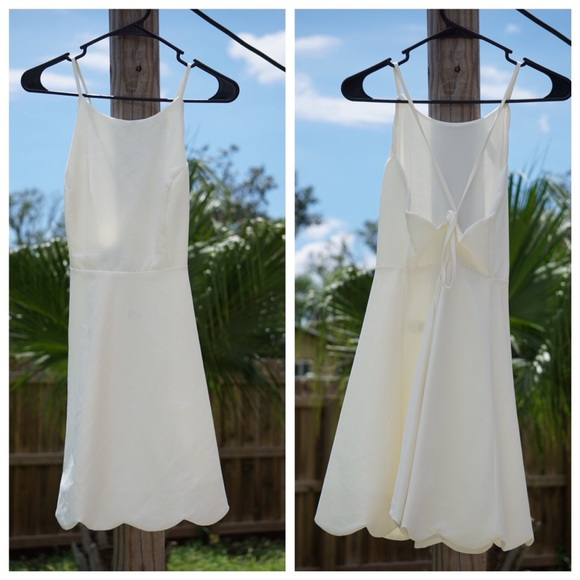 Lulu's Dresses & Skirts - Lulu's White Mini Dress